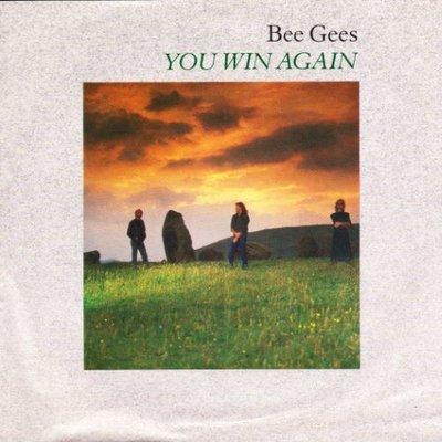 Bee Gees - You win again + Backtafunk (Vinylsingle)