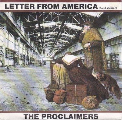 Proclaimers - Letter from America + I'm lucky (Vinylsingle)