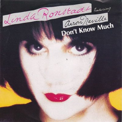 Linda Ronstadt - Don't know much + Hurt so bad (Vinylsingle)