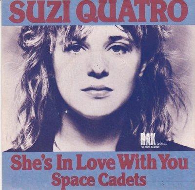 Suzi Quatro - She's in love with you + Space cadets (Vinylsingle)