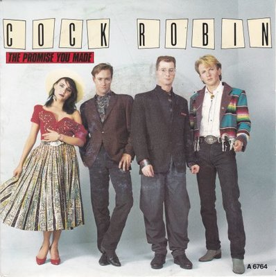 Cock Robin - The promise you made + Have you any sympathy (Vinylsingle)