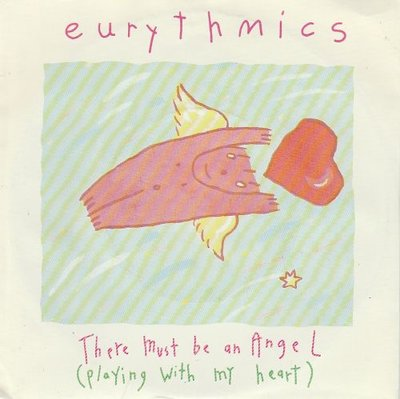 Eurythmics - There must be an angel + Grown up girls (Vinylsingle)