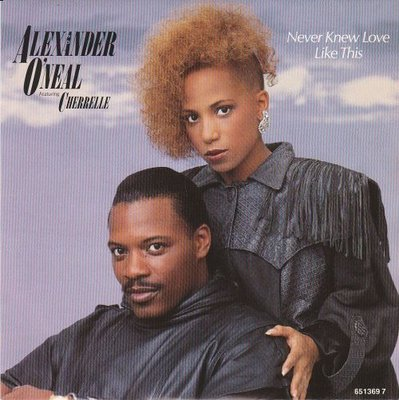 Alexander O'Neal - Never knew love like this + What's missing (Vinylsingle)