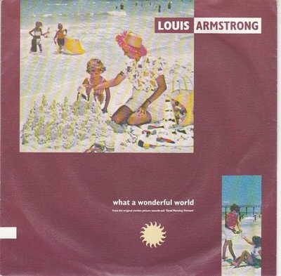 Louis Armstrong / Wayne Fontana - What a wonderful world + Game of love (Vinylsingle)