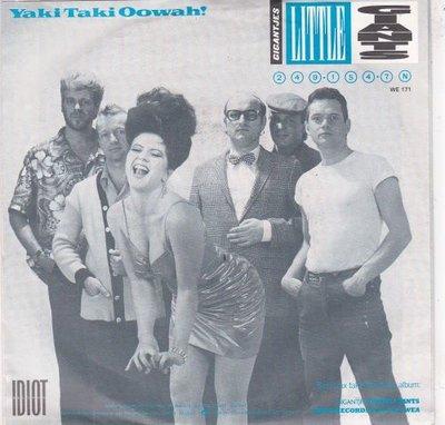 Gigantjes - Yaki Taki Oowah! + Two dry bones (Vinylsingle)