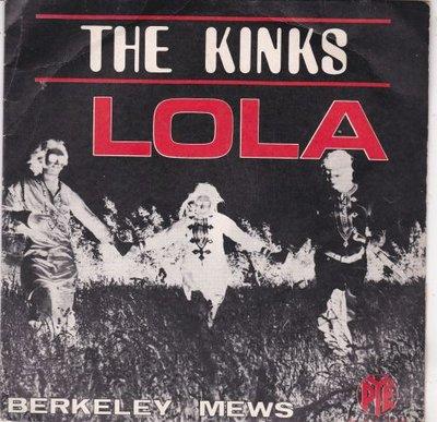 Kinks - Lola + Berkeley news (Vinylsingle)