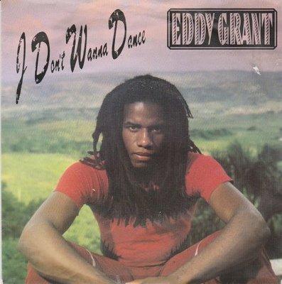 Eddy Grant - I don't wanna dance + (acapella) (Vinylsingle)