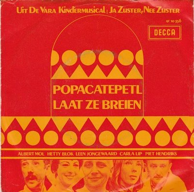 Albert Mol, Hetty Blok e.a. - Popocatepetl + Laat ze breien (Vinylsingle)