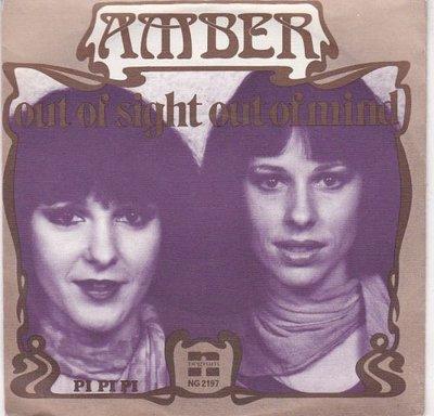 Amber - Out of sight out of mind + Pi pi pi (Vinylsingle)