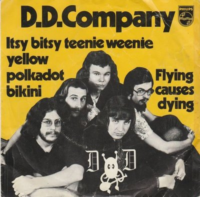 D.D. Company - Itsy Bitsy Teenie Weenie Yellow Polkadot Bikini + Flying Causes Dying (Vinylsingle)