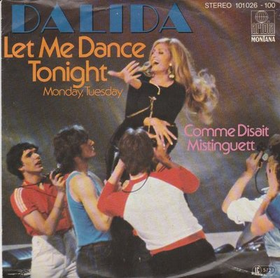 Dalida - Let Me Dance Tonight + Comme Disait Mistinguett (Vinylsingle)