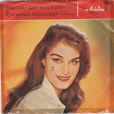 Dalida - Love In Portofino + Ce Serait Dommage (Vinylsingle)