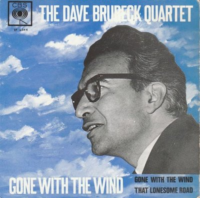 Dave Brubeck - Gone with the wind + That lonesome road (Vinylsingle)