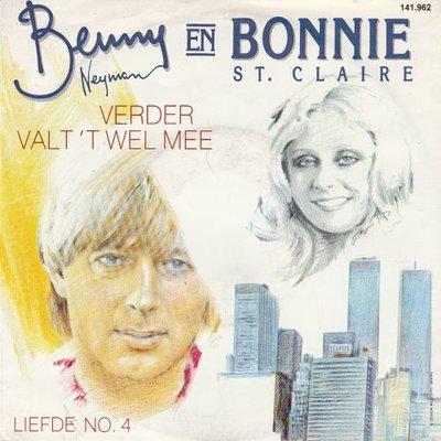 Benny Neyman & Bonnie St. Claire - Verder valt het wel mee + Liefde no. 4 (Vinylsingle)