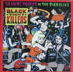 The Diaboliks - Three Fur Burgers... & A Hot Chilli Dog To Go! (Vinyl LP)