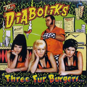 54 Nude Honeys & The Diaboliks - Black Tight Killers (Vinyl LP)