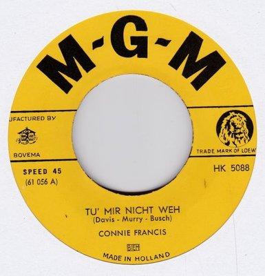 Conny Francis - Tu mir nicht weh + Paradiso (Vinylsingle)