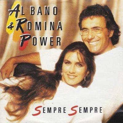 Al Bano & Romina Power - Sempre sempre + Sarando-Okinawa (Vinylsingle)