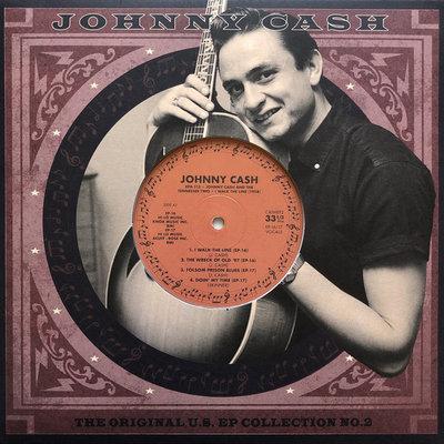 JOHNNY CASH - ORIGINAL US E.P. COLLECTION VOL. 2 (LTD) (Vinyl LP)