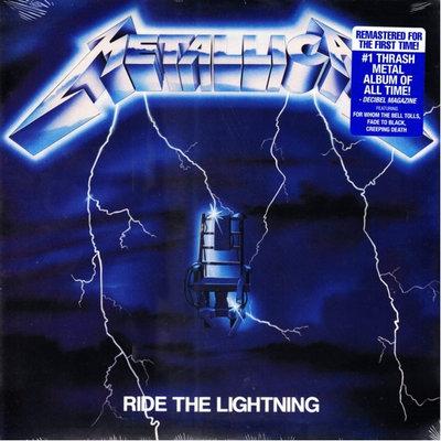 METALLICA - RIDE THE LIGHTNING (Vinyl LP)