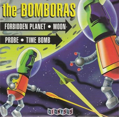 Bomboras - Forbidden Planet + Moon Probe + Time Bomb (Vinylsingle)