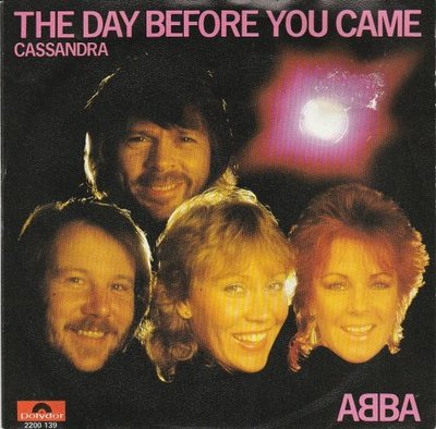 Abba - The day before you came + Casandra (Vinylsingle)