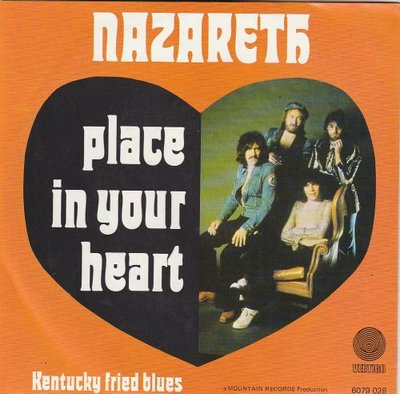 Nazareth - Place in your heart + Kentucky fried blues (Vinylsingle)