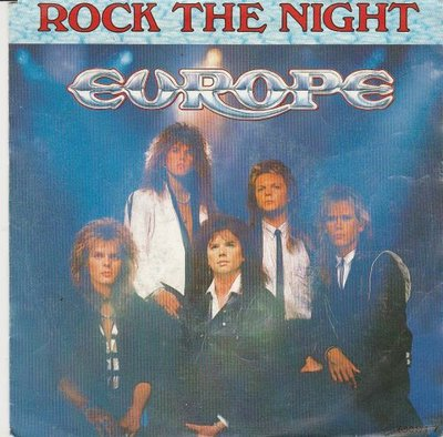 Europe - Rock the night + Seven doors hotel (Vinylsingle)