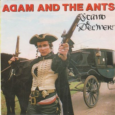 Adam Ant - Stand and deliver + Beat my guest (Vinylsingle)