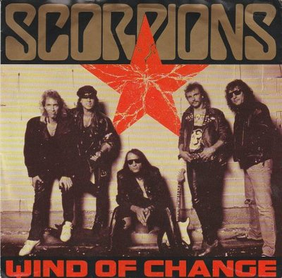 Scorpions - Wind of change + Restless nights (Vinylsingle)