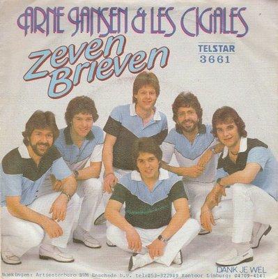 Arne Jansen - Zeven brieven + Dank je wel (Vinylsingle)
