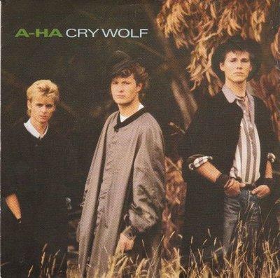 Aha - Cry wolf + Maybe. maybe (Vinylsingle)