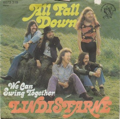 Lindisfarne - All Fall Down + We Can Swing Together (Vinylsingle)