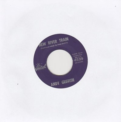 Andy Griffith / Earle Hagen - New River Train + The Andy Griffith Show Theme (Vinylsingle)