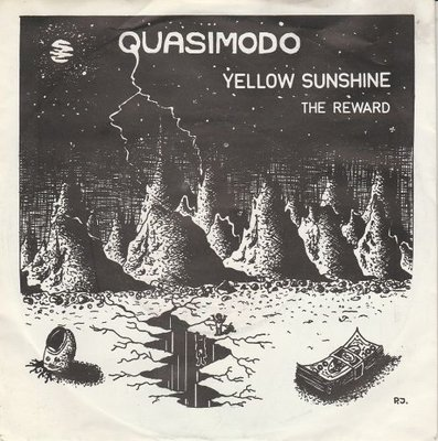 Quasimodo - Yellow Sunshine + The Reward (Vinylsingle)