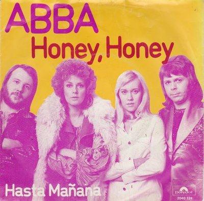Abba - Honey honey + Hasta Manana (Vinylsingle)
