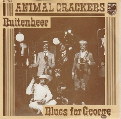 Animal Crackers - Ruitenheer + Blues for george (Vinylsingle)
