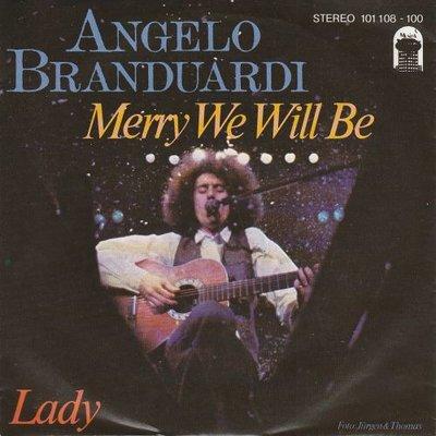 Angelo Branduardi - Merry We Will Be + La Pulce D'Aqua (Vinylsingle)