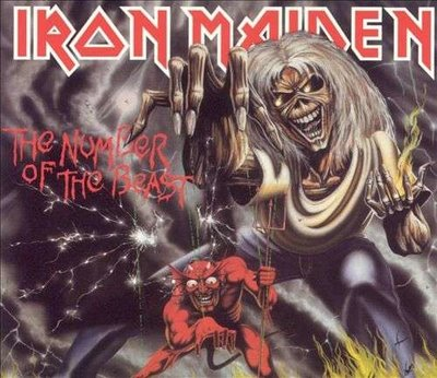 IRON MAIDEN - NUMBER OF THE BEAST (Vinyl LP)
