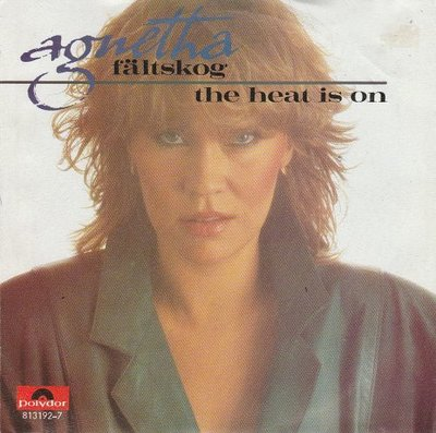 Agnetha Faltskog - The heat is on + Man (Vinylsingle)