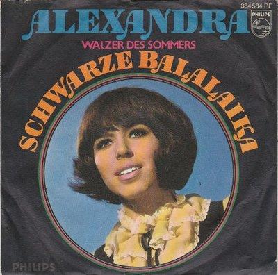 Alexandra - Schwarze balalaika + Walzer des somers (Vinylsingle)