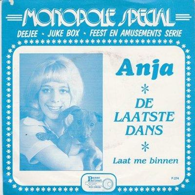 Anja - De laatste dans + Laat me binnen (Vinylsingle)