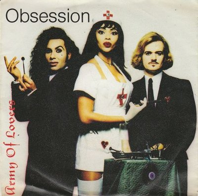 Army of Lovers - Obsession + (dub version) (Vinylsingle)