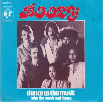 Boozy - Dance to the music + Take the music and dance (Vinylsingle)