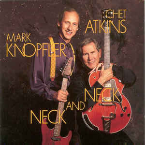 CHET ATKINS & MARL KNOPFLER - NECK AND NECK -COLOURED- (Vinyl LP)