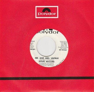 Doug McClure - Lighthouse + Mr. And Mrs. Untrue (Vinylsingle)