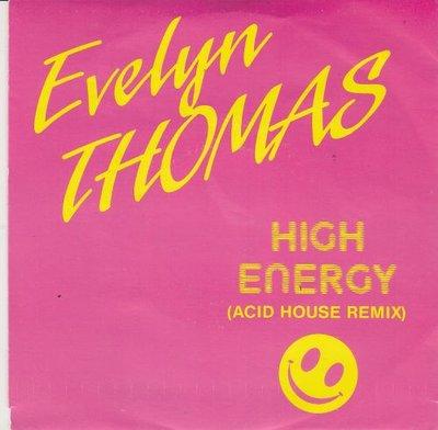 Evelyn Thomas - High Energy (Acid House Remix) + (Original Version) (Vinylsingle)