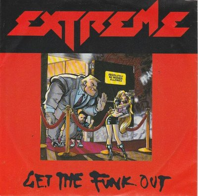 Extreme - Get the funk out + L'il Jack horny (Vinylsingle)