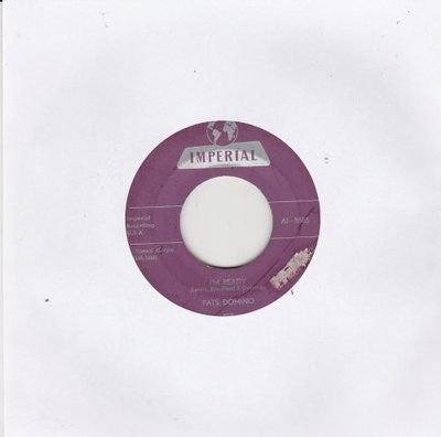 Fats Domino - I'm ready + Margie (Vinylsingle)