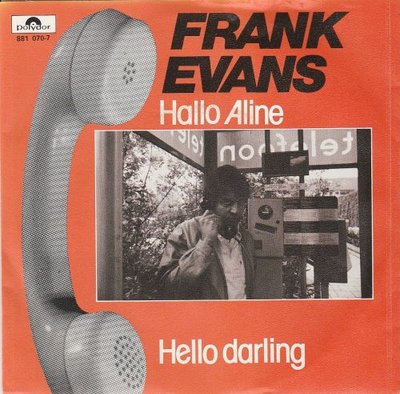 Frank Evans - Hallo Aline + Hello Darling (Vinylsingle)